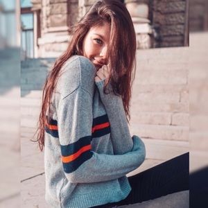 Brandy Melville | Bernadette Wool Stripe Sweater